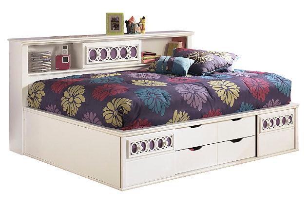 Zayley Full Bookcase Bed Ashley Furniture Homestore