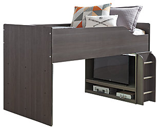Annikus Twin Loft Bed, , large