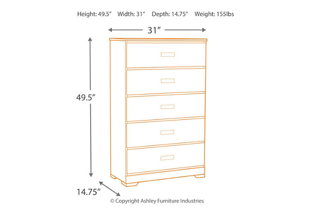Annikus Chest of Drawers, , large
