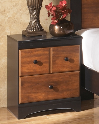 Aimwell Nightstand, Dark Brown