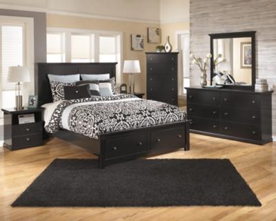 Picture of: Maribel Queen Storage Bed Ashley Furniture Homestore