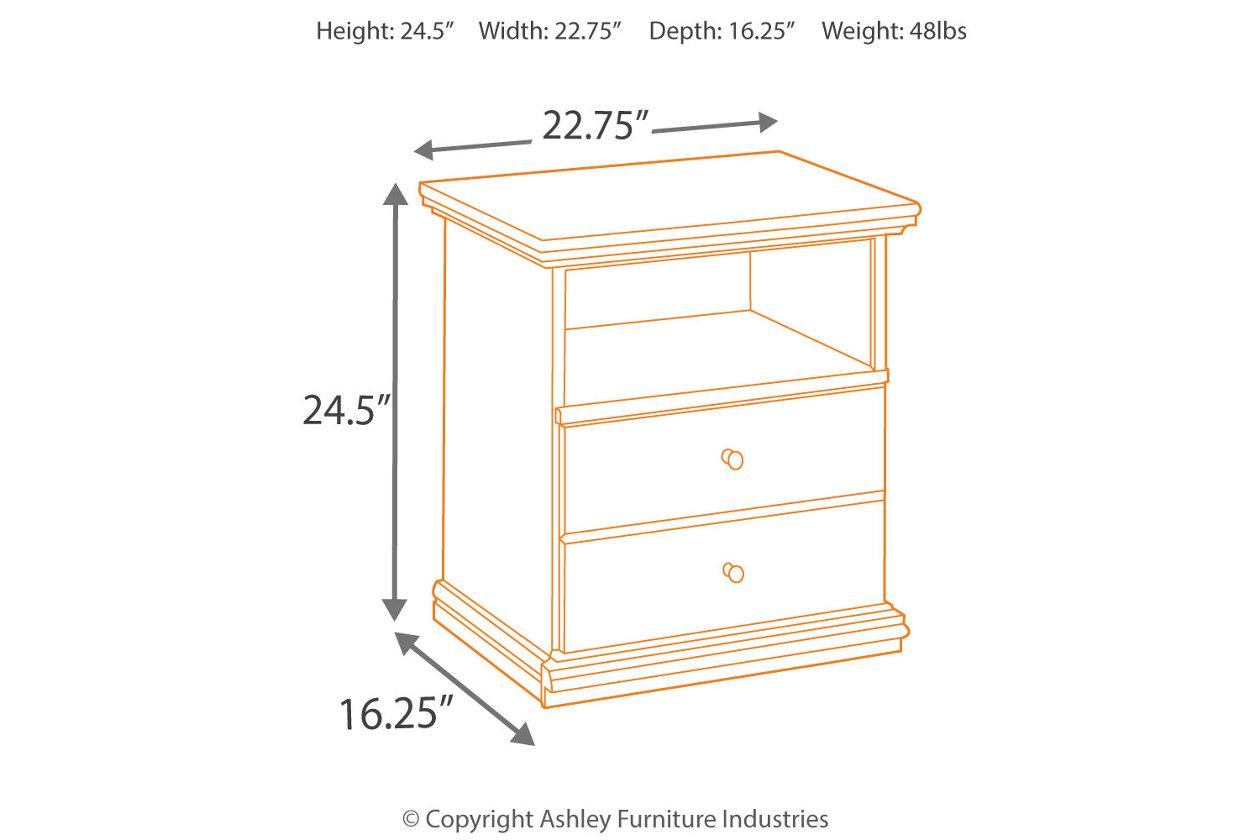 Maribel One Drawer Nightstand Ashley Furniture Homestore