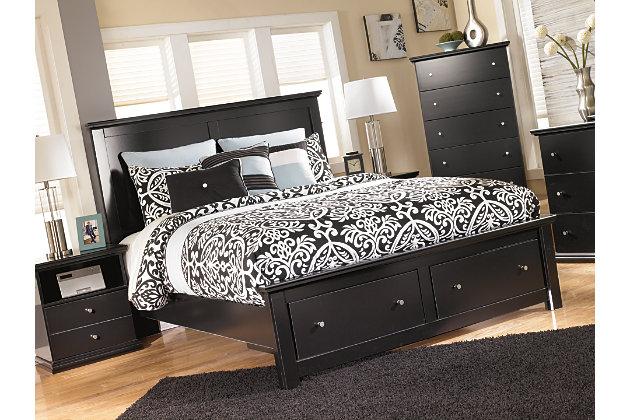 Maribel Queen Storage Bed, , large