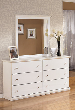Bostwich Shoals Queen Panel Bed with Dresser Mirror, , large