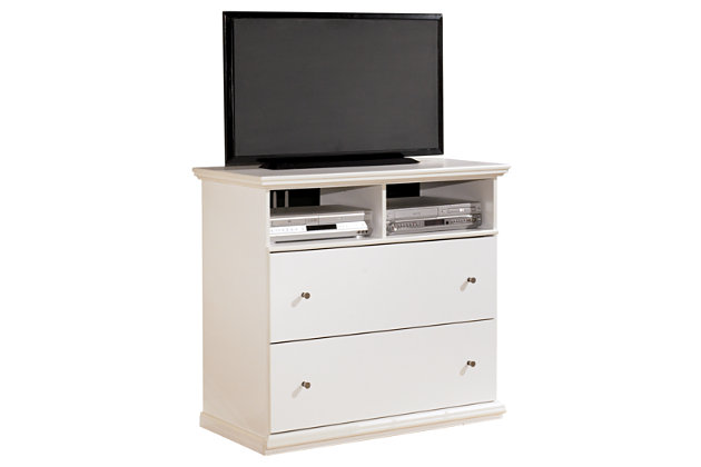 White Bostwick Shoals Media Chest by Ashley HomeStore