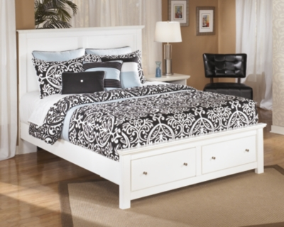 Picture of: Bostwick Shoals Queen Storage Bed Ashley Furniture Homestore