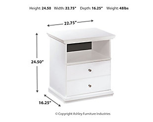 Bostwick Shoals Nightstand, , large