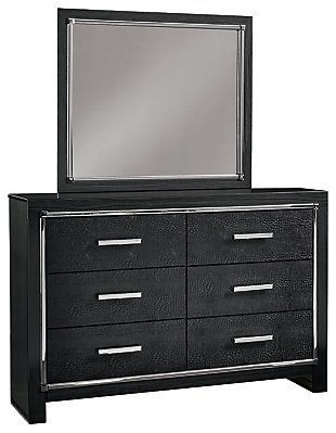 Kaydell Dresser and Mirror, , large