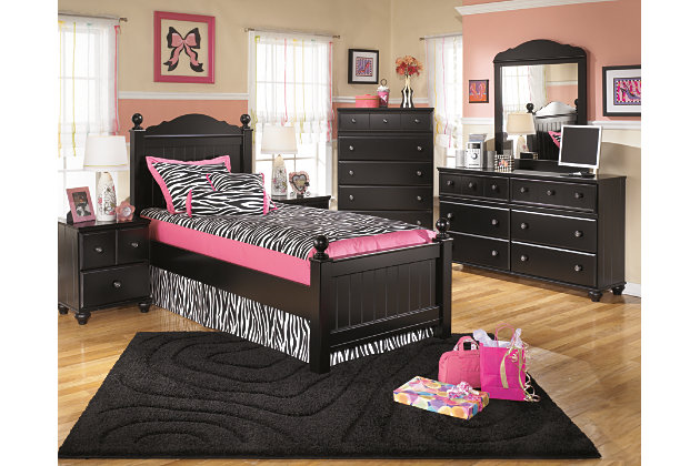 Black Jaidyn Nightstand by Ashley HomeStore
