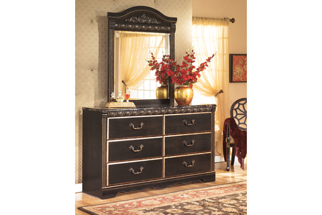 Coal Creek Dresser and Mirror, , large