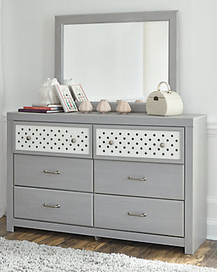 Arcella Dresser and Mirror, , rollover