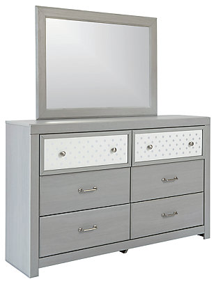Arcella Dresser and Mirror, , large