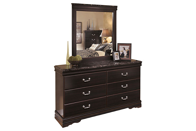 Esmarelda Dresser and Mirror, , large