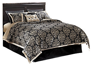 Esmarelda Queen/Full Panel Headboard, , large