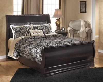 Esmarelda Queen Sleigh Bed Ashley Furniture HomeStore
