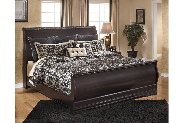 Esmarelda King Sleigh Bed Ashley Furniture Homestore