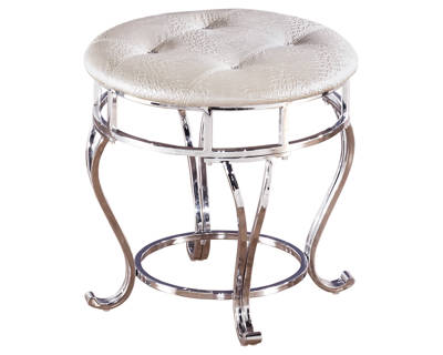 Zarollina Upholstered Stool (1/CN) Decor Example