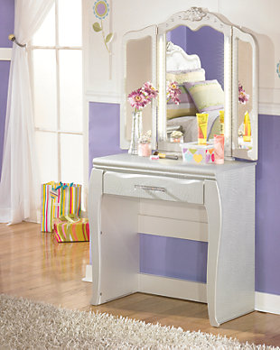 Zarollina 2-Piece Vanity and Mirror, , rollover