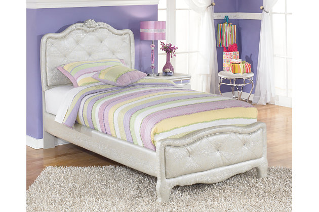 Zarollina 2 Piece Twin Upholstered Bed Ashley Furniture Homestore