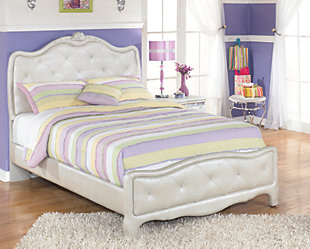 Zarollina 3-Piece Full Upholstered Bedroom, , large