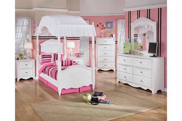 Exquisite Dresser and Mirror, , large