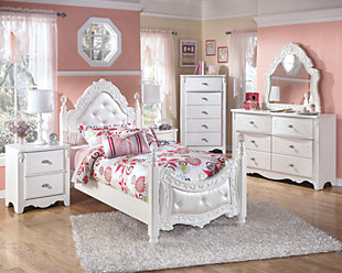 Exquisite Dresser and Mirror, , large