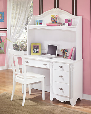 wall using bedroom desks white lamp organizer also pink neck goose and with modern combine decoration teen chair table desk room