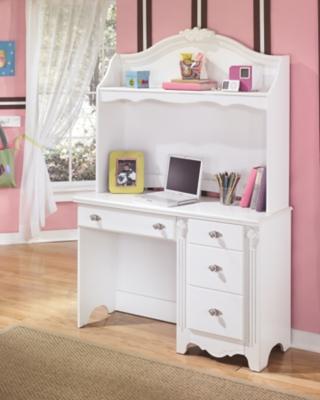Hutch White Desk Product Photo 1702