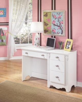 Ashley Exquisite Bedroom Desk, White