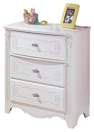 girl bedroom furniture. Exquisite Chest of Drawers  Girls Bedroom Furniture Ashley HomeStore