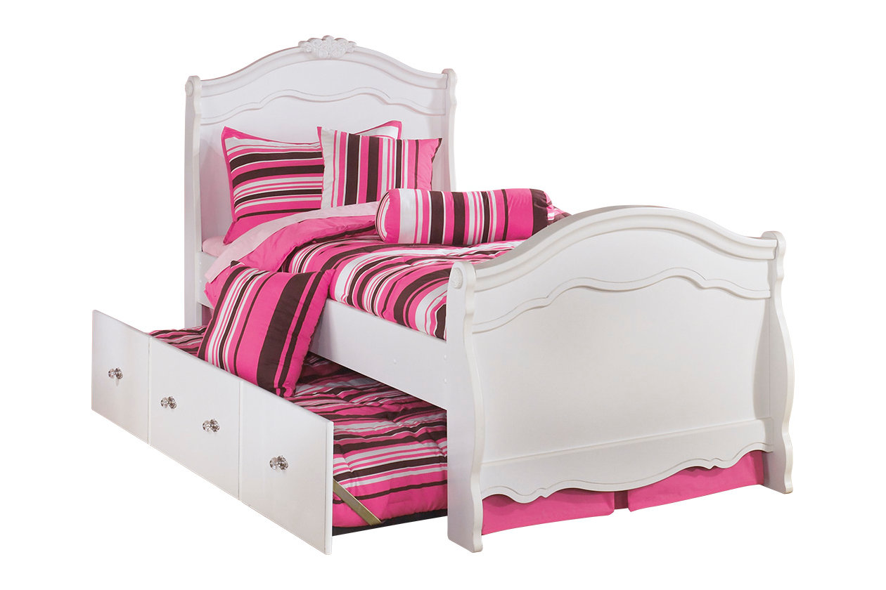 Exquisite Twin Trundle Bed   Ashley Furniture HomeStore