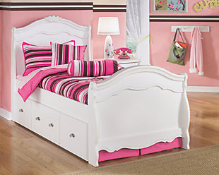 Exquisite Twin Trundle Bed, , rollover
