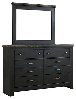 Westinton Dresser and Mirror, , large
