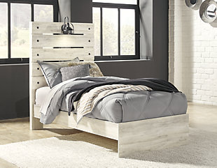 Cambeck Twin Panel Bed with Dresser, , large