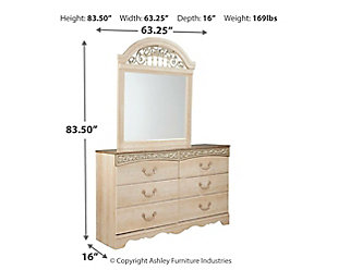 Catalina Dresser And Mirror Ashley Furniture Homestore