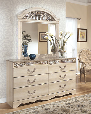 Catalina Dresser and Mirror, , rollover
