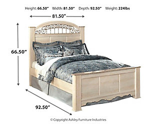 Catalina King Poster Bed Ashley Furniture Homestore