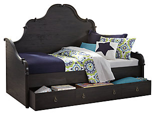 Corilyn Twin Day Bed With Trundle Storage Ashley Furniture Homestore
