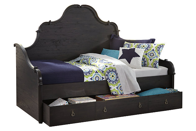 Corilyn Twin Day Bed with Trundle Storage, , large