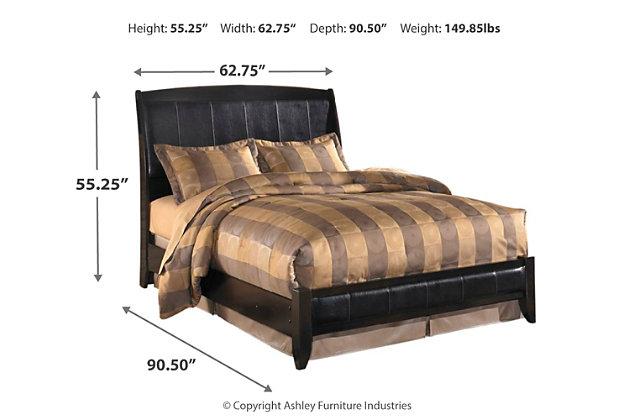 Harmony Queen Platform Style Bed, Ashley Furniture Harmony Bedroom Set