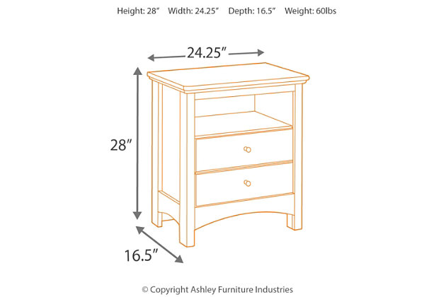 Harmony Nightstand, , large