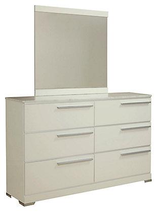 Brillaney Dresser and Mirror, , large