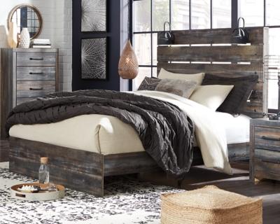 Drystan Queen Panel Bed Ashley Furniture Homestore