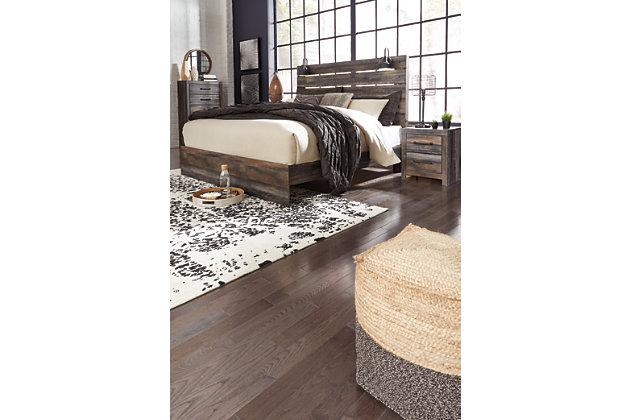 Drystan King Panel Bed, Multi, large