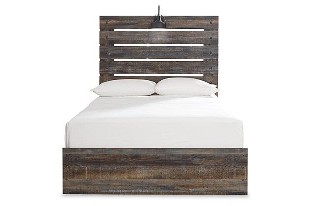 Drystan Full Panel Bed, Multi, large