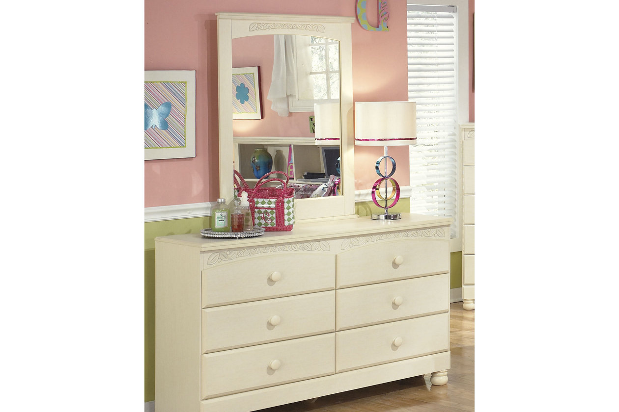 Cottage Retreat Dresser and Mirror | Ashley Furniture HomeStore