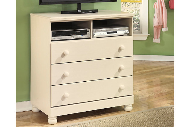 Cottage retreat media chest ashley furniture homestore Cottage retreat collection bedroom furniture