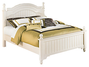 Cottage retreat queen poster bed ashley furniture homestore Cottage retreat collection bedroom furniture