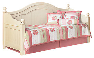 Cottage Retreat Twin Day Bed, Cream Cottage, large