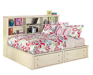 Cottage Retreat Bookcase Bed, , large